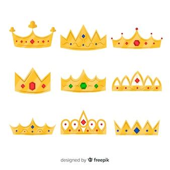 Золотая принцесса тиара коллекция