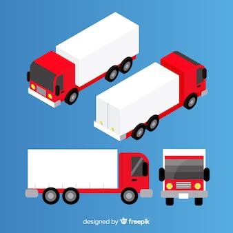 等尺性トラックの視点コレクション