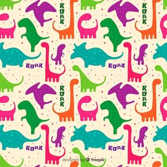 恐竜のパターン