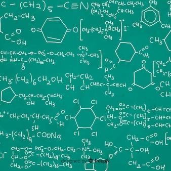 黒板背景化学情報