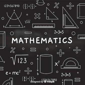 数学現実的な黒板背景