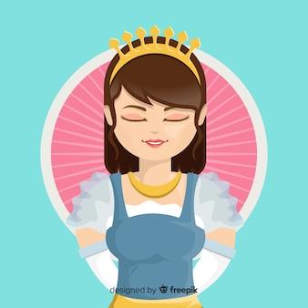 Плоская принцесса фон