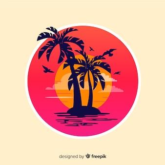 Пляжный закат