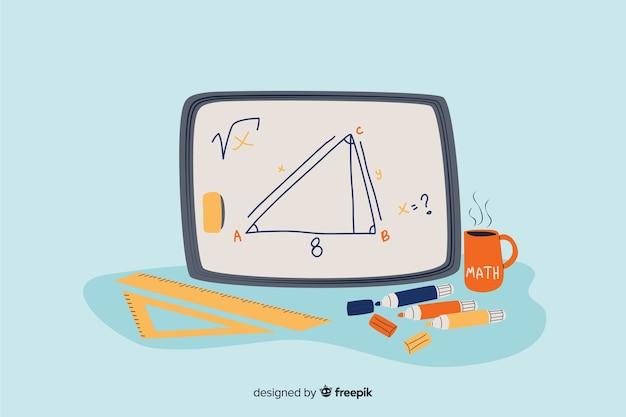 漫画数学の概念の背景