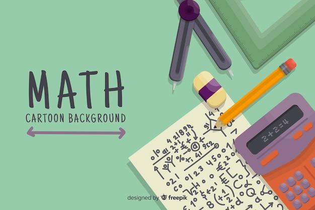Мультфильм математическая концепция фон