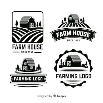 農場ロゴコレクション