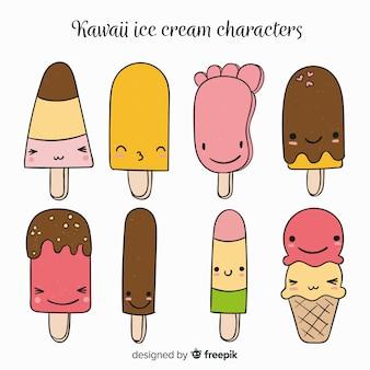 かわいいアイスクリームコレクション