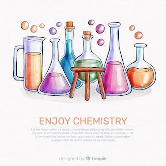 水彩化学の背景