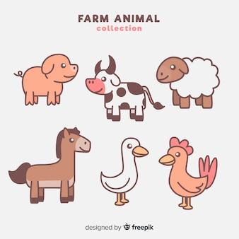 農場の動物コレクション