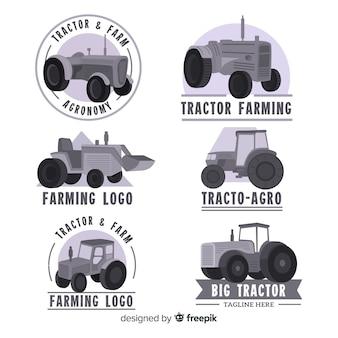 フラットブラックファームロゴコレクション