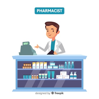 フラット薬剤師参加顧客の背景