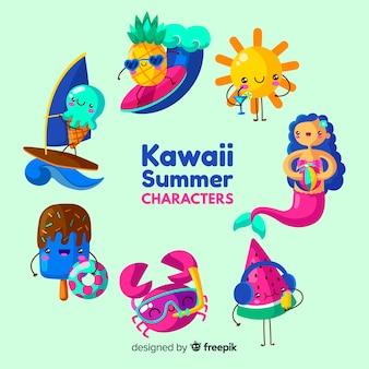 カワイイ夏要素セット