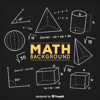 数学黒板背景