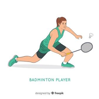 バドミントン選手
