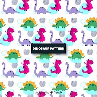 フラット恐竜パターン