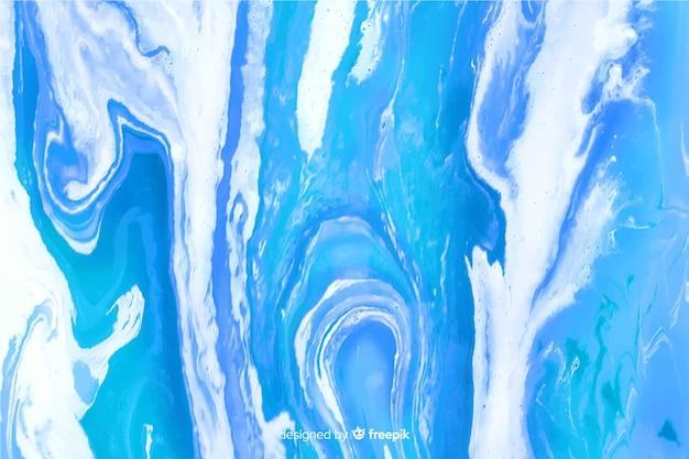カラフルな大理石のペンキテクスチャ背景