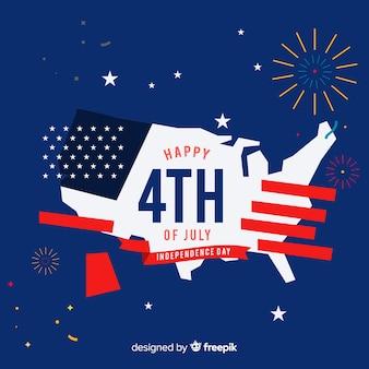 Плоский день независимости фон