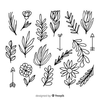 花飾り要素