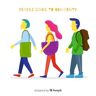 Коллекция студентов университета
