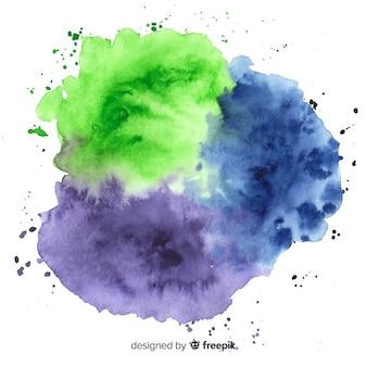 水彩画の汚れの背景
