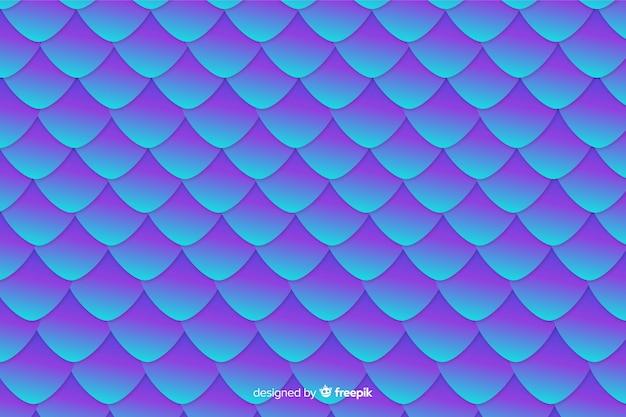 Голографический хвост русалки