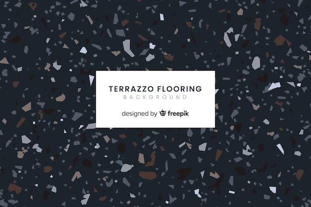 テラゾのフロアーリングの背景