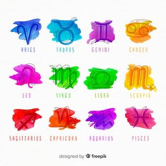 水彩の干支