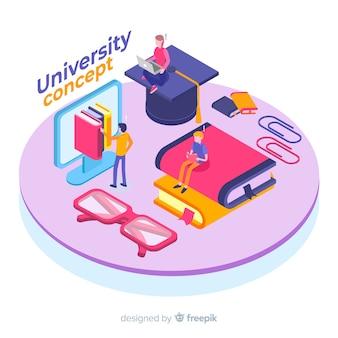 等尺性大学の概念の背景