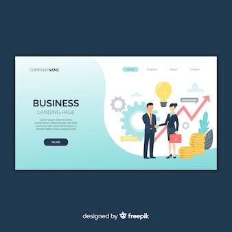 ビジネスランディングページ