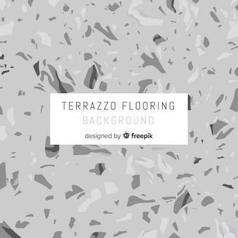 灰色の平らなテラゾーの床の背景