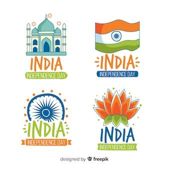 インド独立記念日バッジコレクション