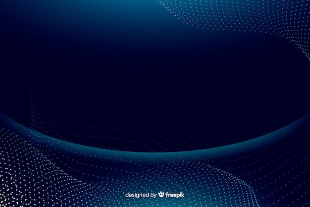 Синий абстрактный фон технологии
