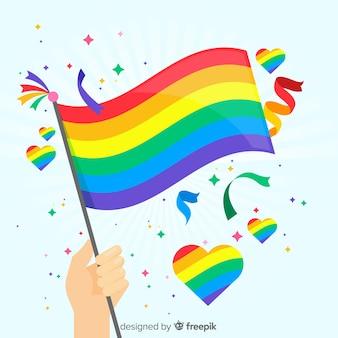 Флаг гордости