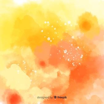 Красочный акварельный фон с пятнами