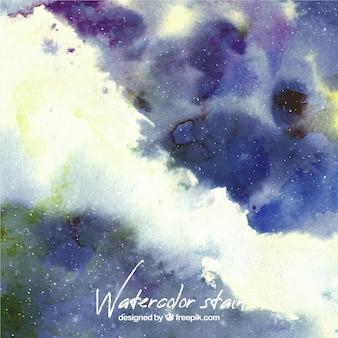 抽象的な汚れと水彩画の背景