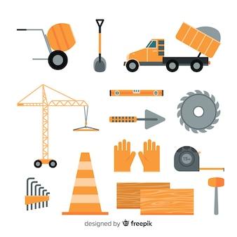 フラット建設機械のコレクション