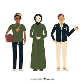 Люди разных рас и культур