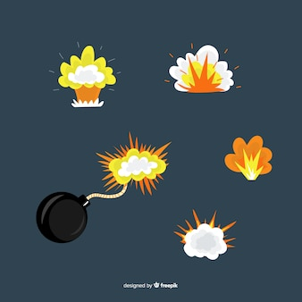 Сборник мультипликационных бомб и взрывов