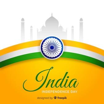 リアルなインド独立記念日の背景