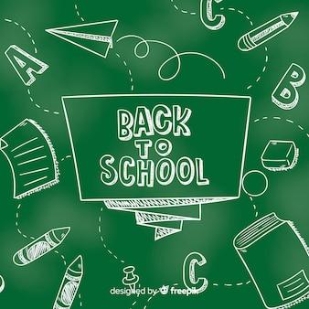 Классная доска обратно в школу