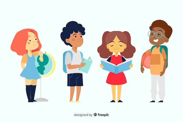 Плоская спина к школьникам