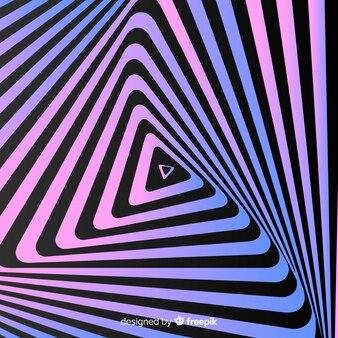 目の錯覚波状フラット背景