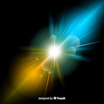 光の力がリアルなスタイルを演出