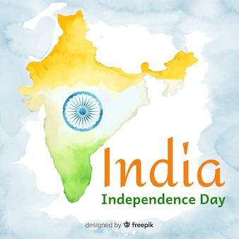 Счастливый день независимости индии фон