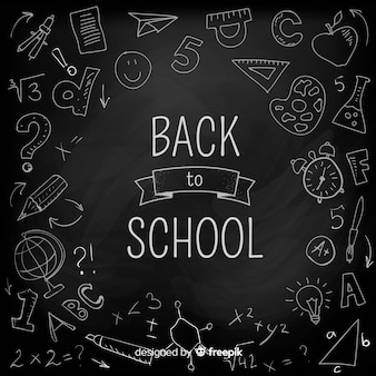 学校の背景に戻る黒板