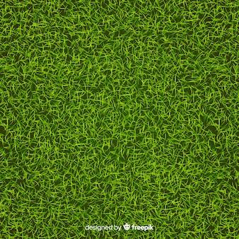 緑の芝生の背景のリアルなスタイル