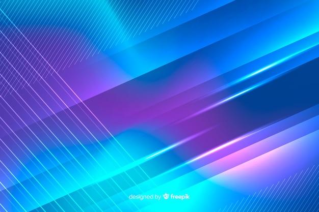抽象的なネオン光線背景