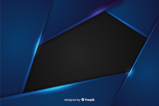 Абстрактный металлический темно-синий фон