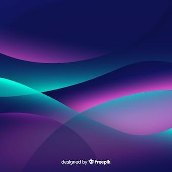 Абстрактный фон с градиентными формами
