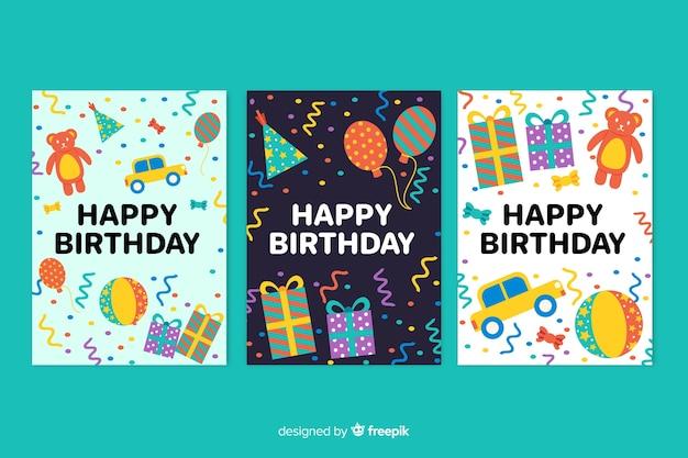 Коллекция открыток с днем рождения